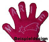 "Kinder-ABS-Handschuhe ""Magic Gloves"" mit Name und Motiv"