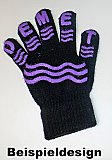 "Damen Handschuhe ""Magic Gloves"" mit Namens-ABS"