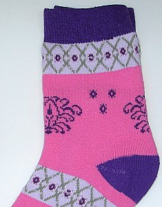 "Thermo-Socken ""Boy & Girl"" - pink"