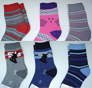 "Thermo-Socken ""Boy & Girl"""