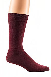 "Herrensocken ""Color Your Life"" mit individueller Anti-Rutsch-Beschichtung - bordeaux"