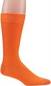 "Herrensocken ""Color Your Life"" mit individueller Anti-Rutsch-Beschichtung - orange"