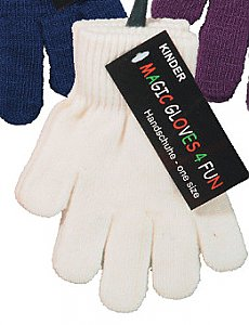 "Kinder-ABS-Handschuhe ""Magic Gloves"" mit Name und Motiv - natur"